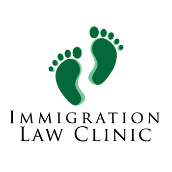Pegasus' professional logo design - created for the immigration Law Clinic