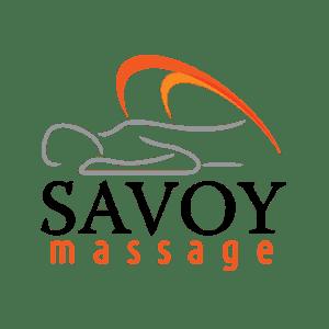 Savoy Massage Logo designed by Pegasus Online